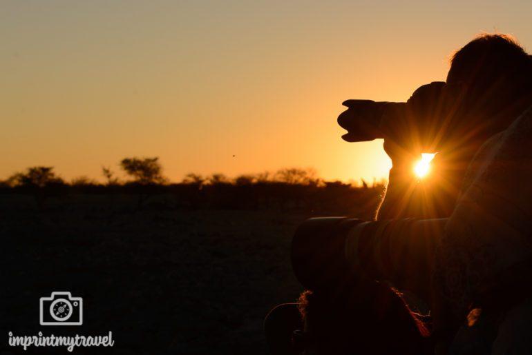 Fotografieren auf Safari Objektiv
