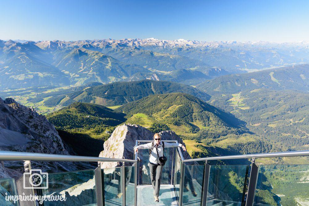 Urlaub in Österreich: Treppe ins Nichts