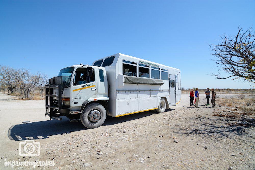 Afrika-Rundreise: Safaritruck