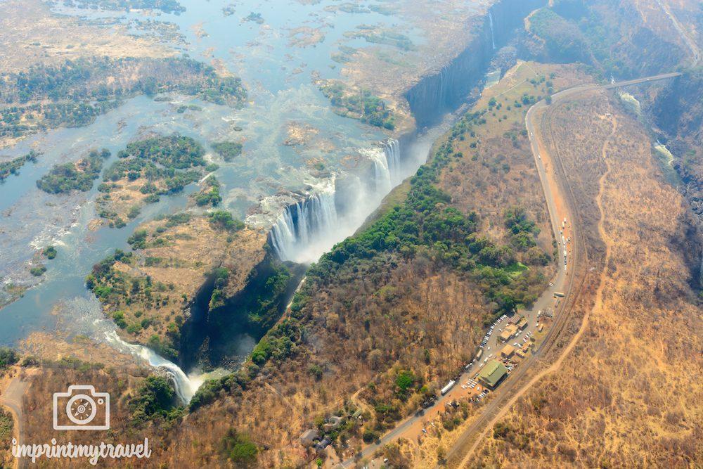 Afrika- Rundreise: Victoria-Fälle im September