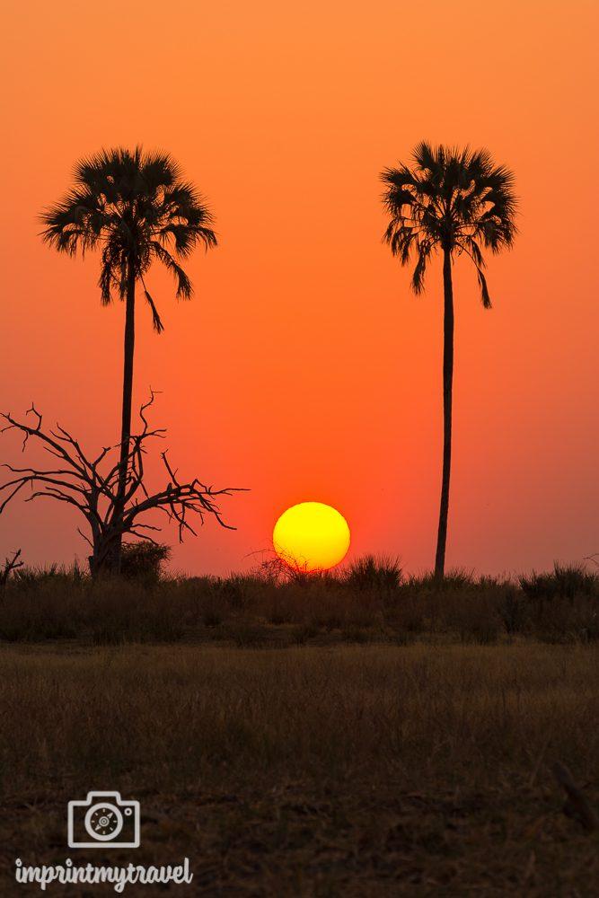Fotoparade Sonnenuntergang