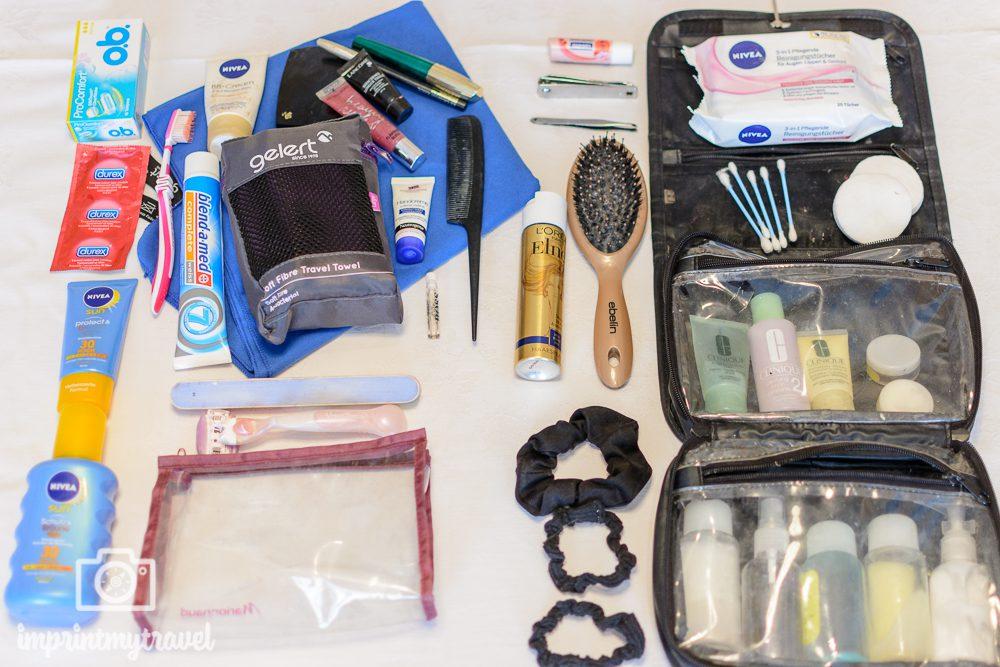 Reiseliste Hygiene & Kosmetik