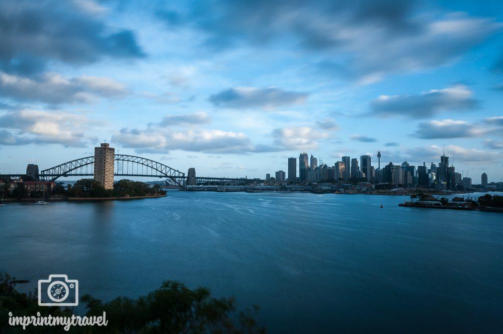 Fotografieren mit Graufilter Sydney