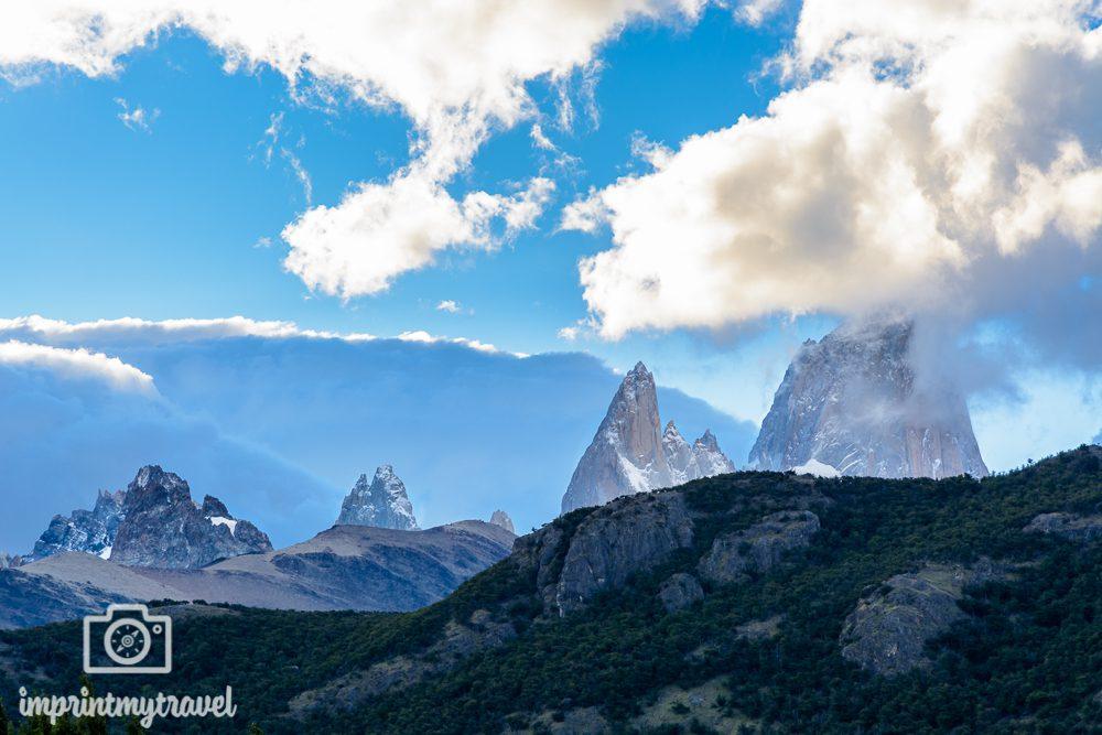 Patagonien Highlights, Cerro Torre Massiv mit Fitz Roy, El Chaltén