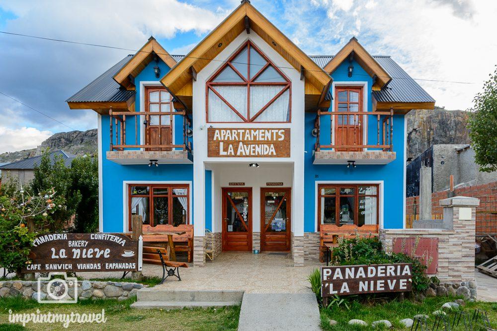 Patagonien Panaderia La Nieve