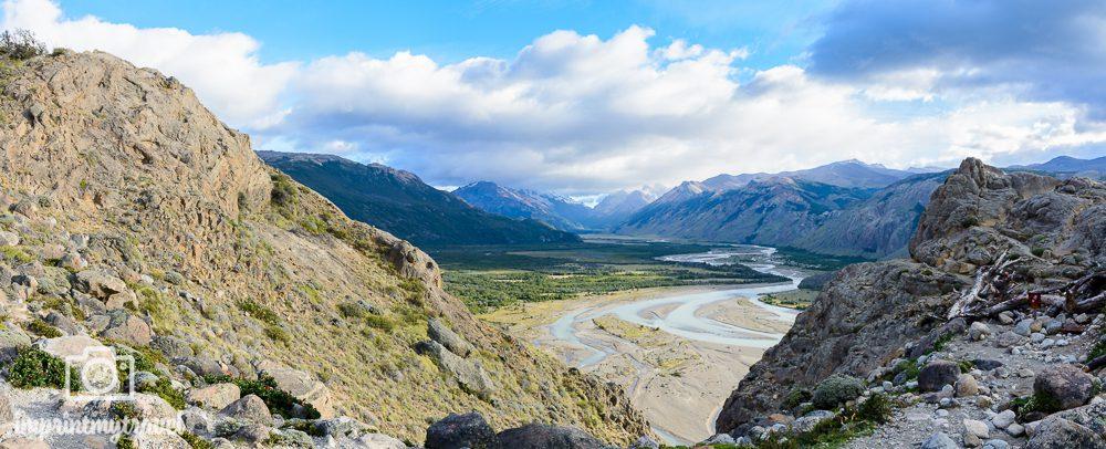Patagonien Highlights, Mirador Río de las Vueltas, El Chaltén