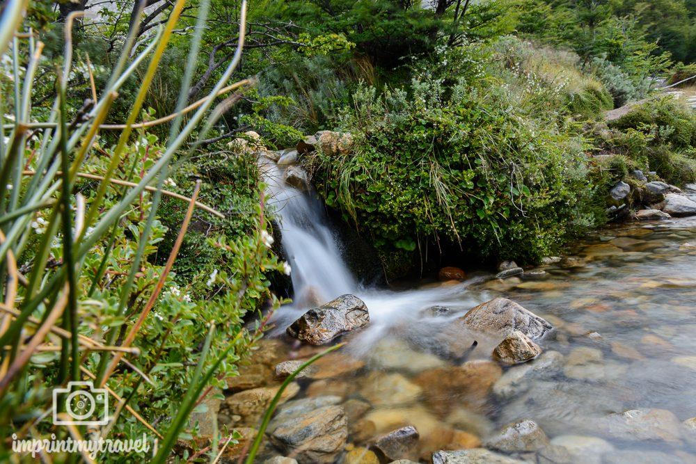 Fotografieren mit Graufilter: Schleiereffekt Wasserfall