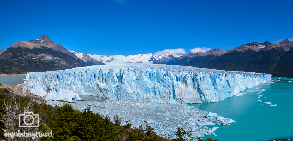 Patagonien Highlights, Perito Moreno, Panorama