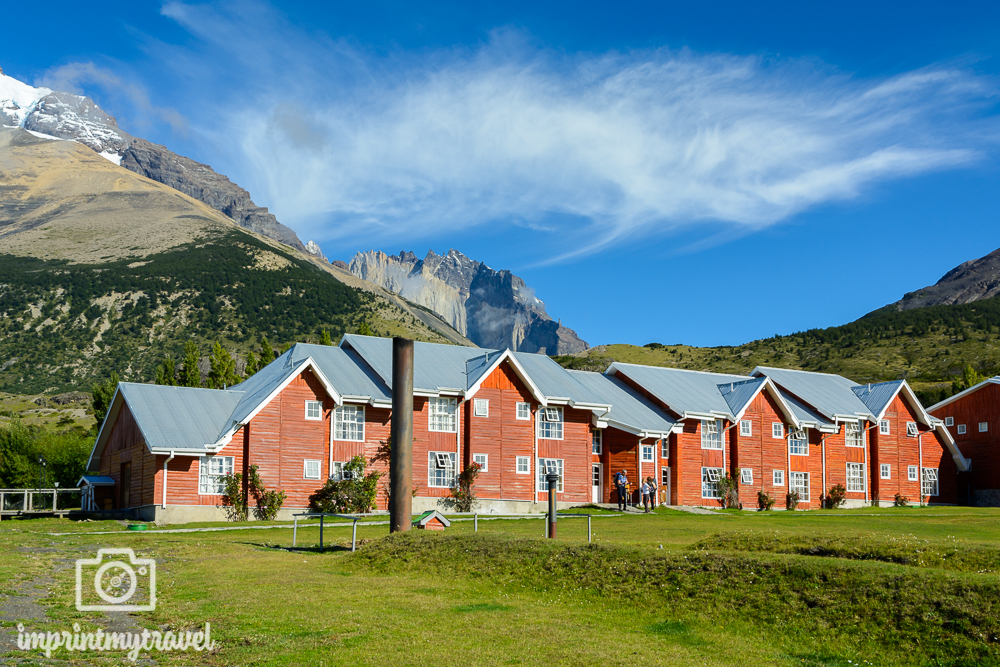 "Das ""W-Trekking"" im Torres del Paine Nationalpark, Hotel de las Torres"