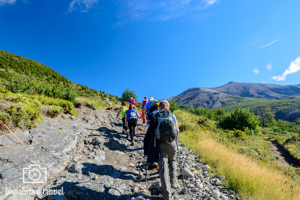 """Das """"W-Trekking"""" im Torres del Paine Nationalpark, Wandern"""