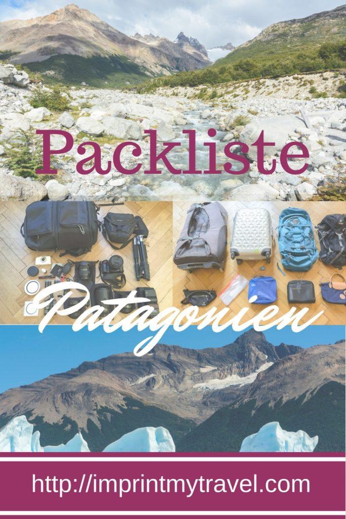 Patagonien Packliste