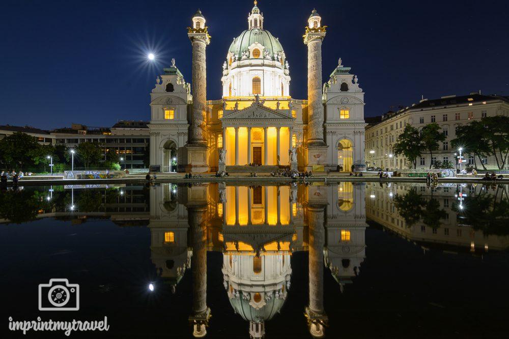 Die besten Fotolocations in Wien, Karlskirche