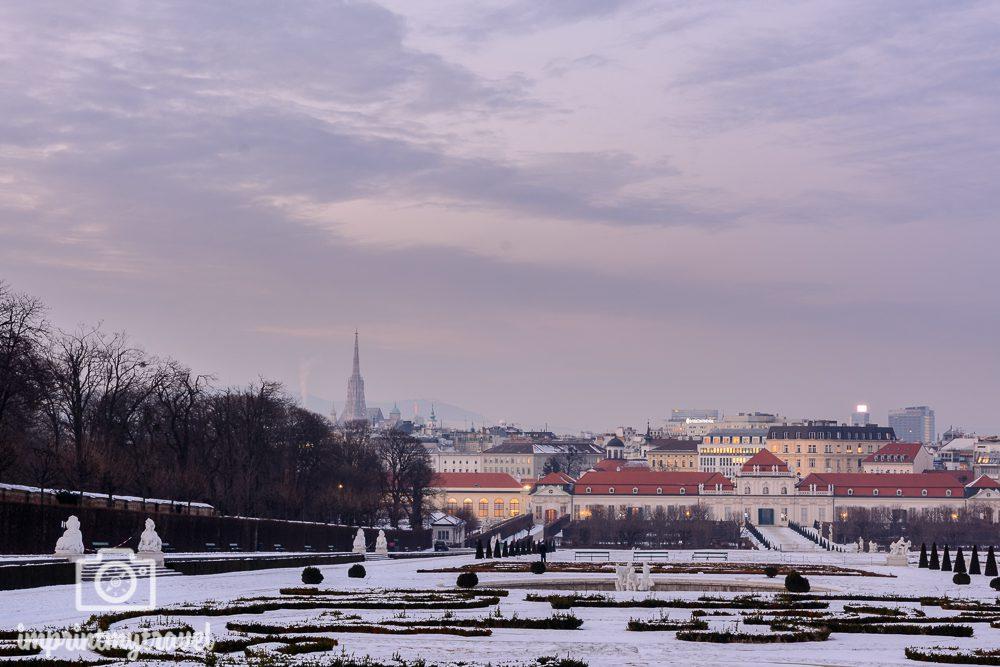 Die besten Fotolocations in Wien, oberes Belvedere