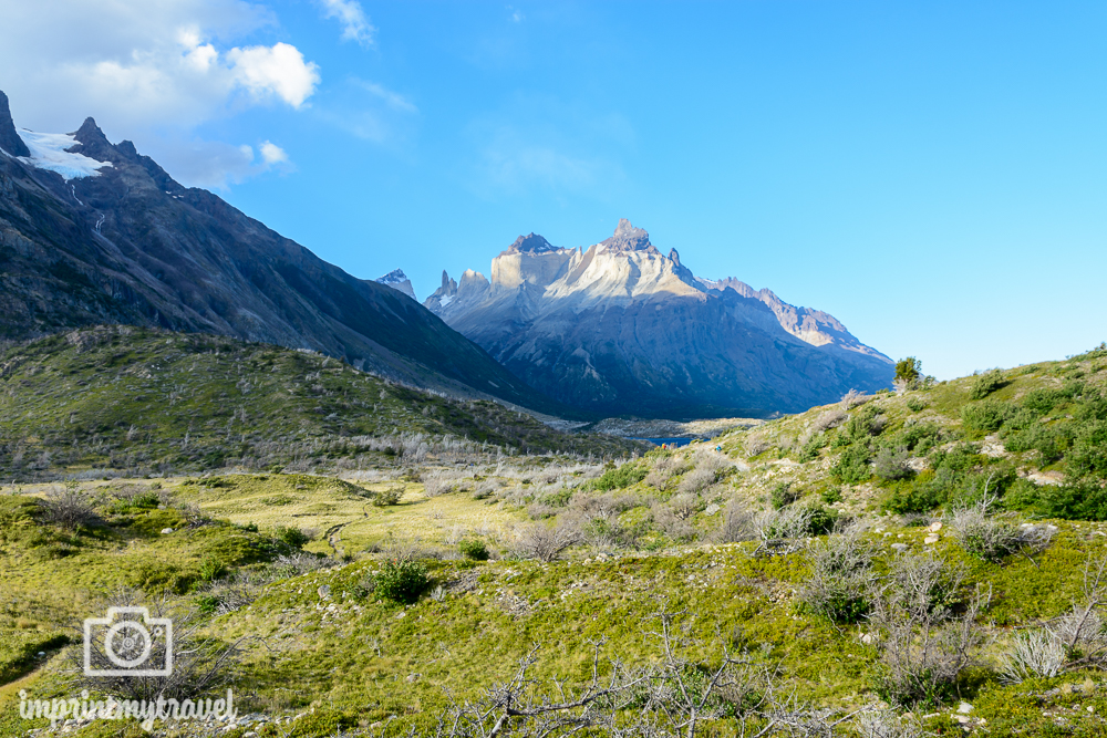 """Das """"W-Trekking"""" im Torres del Paine Nationalpark, Cerro Paine Grande"""