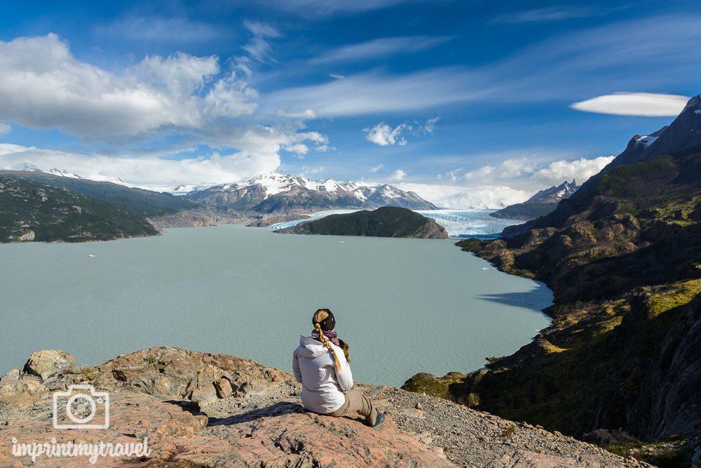 "Das ""W-Trekking"" im Torres del Paine Nationalpark, Mirador Glaciar Grey"