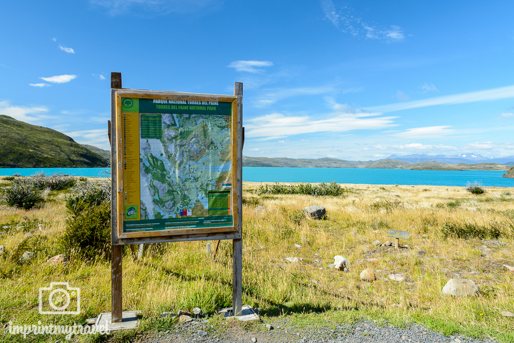 "Das ""W-Trekking"" im Torres del Paine Nationalpark, Lago Pehoé"