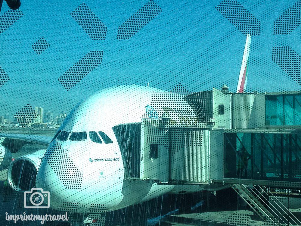 Australien- Rundreise planen: Flug mit Emirates