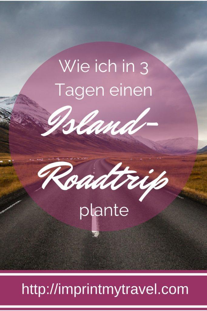 Island Roadtrip Planung