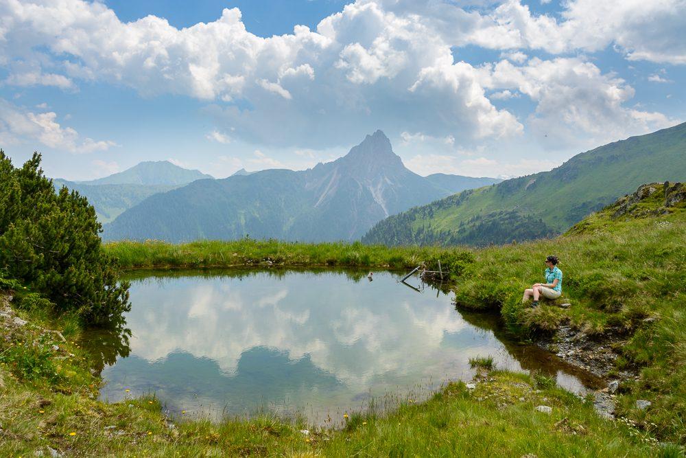 Wandern in Tirol KAT-Walk Kitzbüheler Alpen Österreich Urlaub