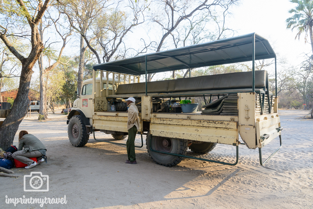 Okavango Delta Ausflug Allrad Truck