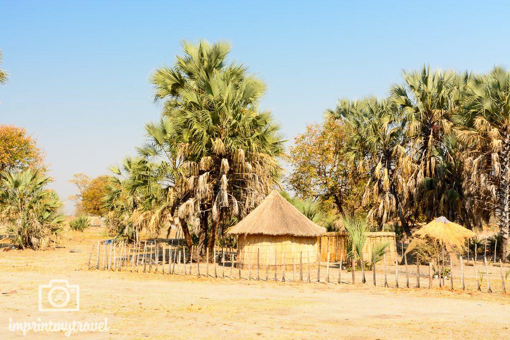 Okavango Delta Safari: Dorf