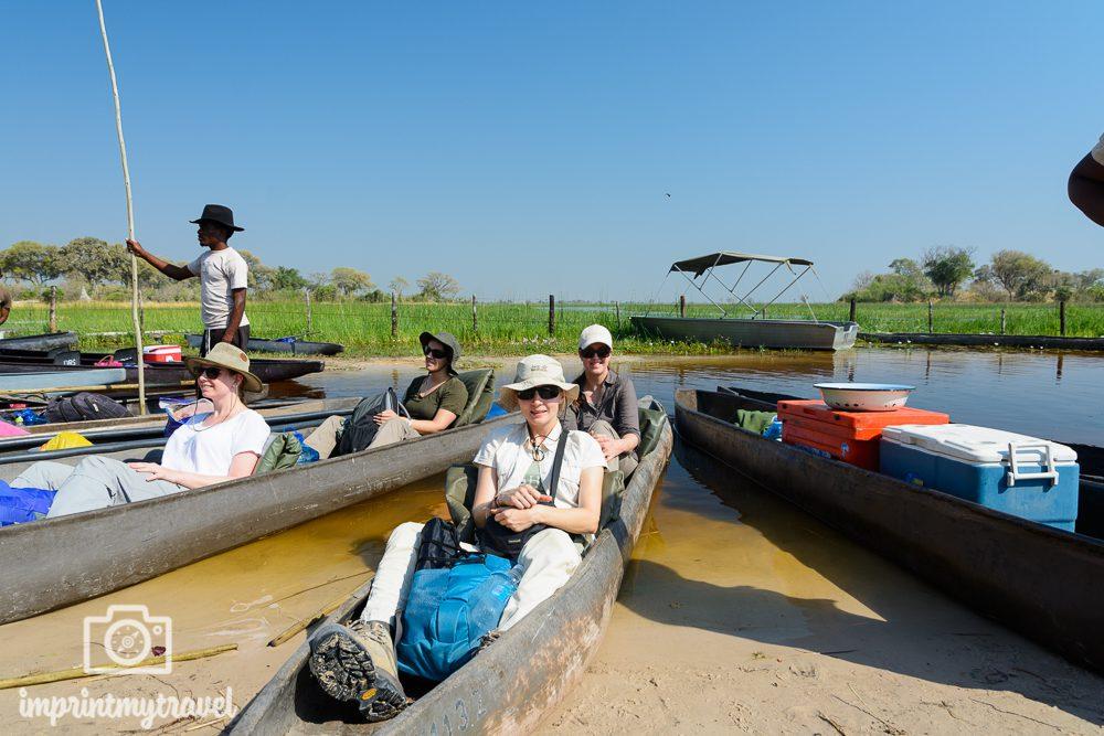 Okavango Delta Safaro: Mokorofahrt