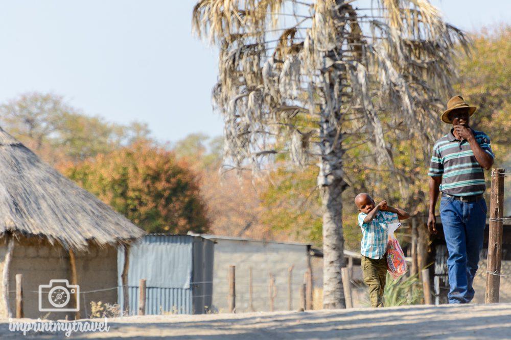 Okavango Delta Safari: Poling Station