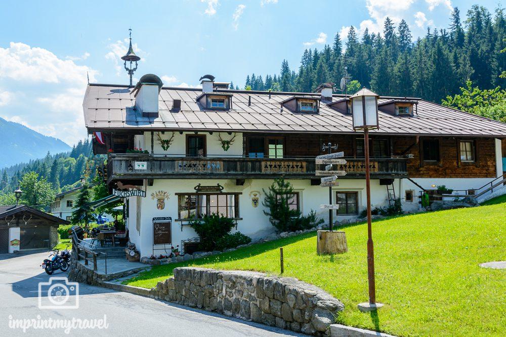 KAT Walk Kitzbüheler Alpen Tirol Fuchswirt