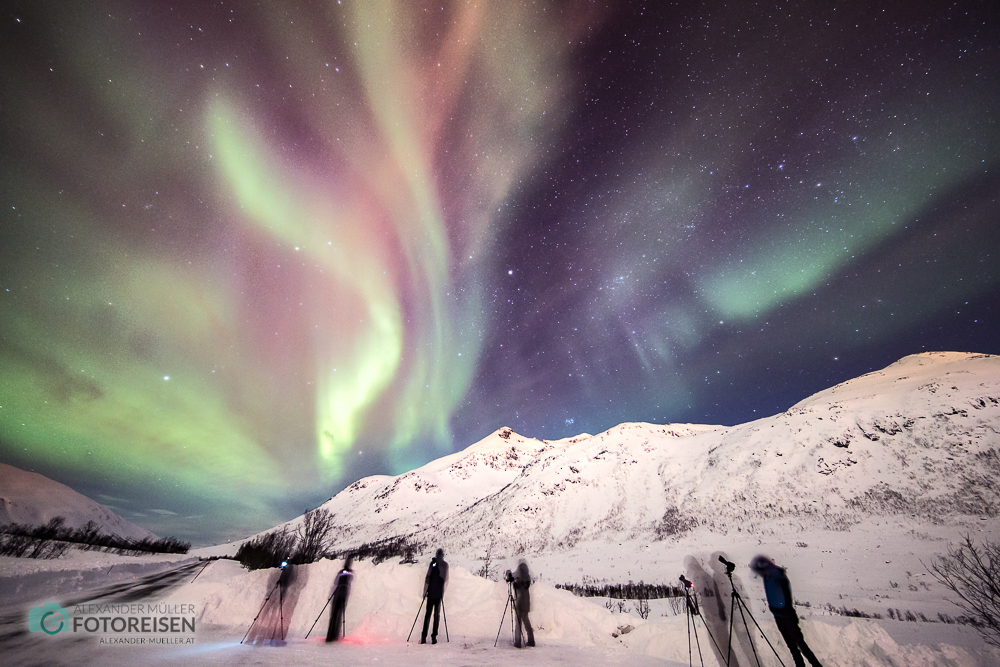 Fotoreise Nordlichter Norwegen