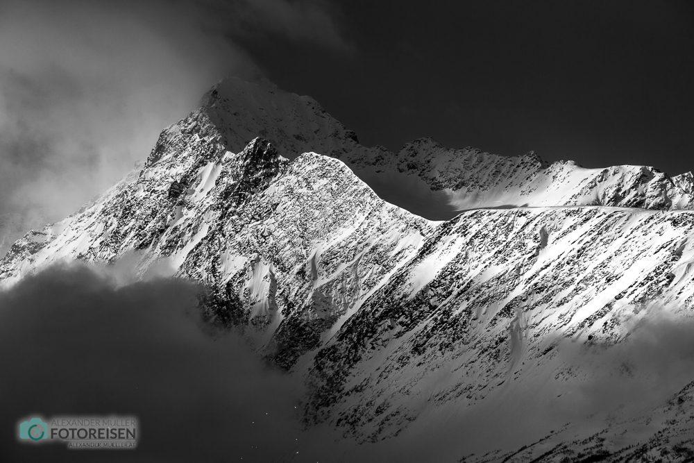 Fotoreise Nordlichter Norwegen Berge