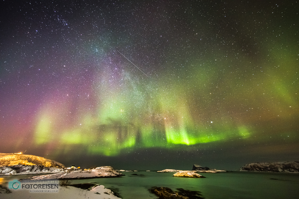 Fotoreise Nordlichter Norwegen Sommarøy
