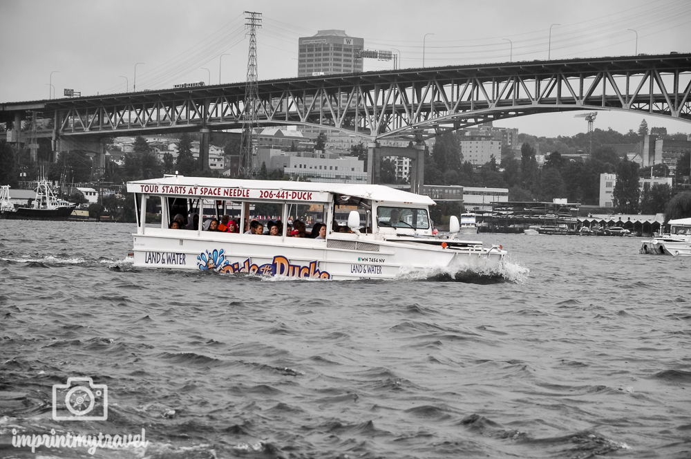 USA & Kanada Roadtrip Ducktour Seattle
