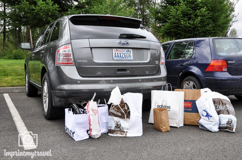 USA & Kanada Roadtrip Einkaufen