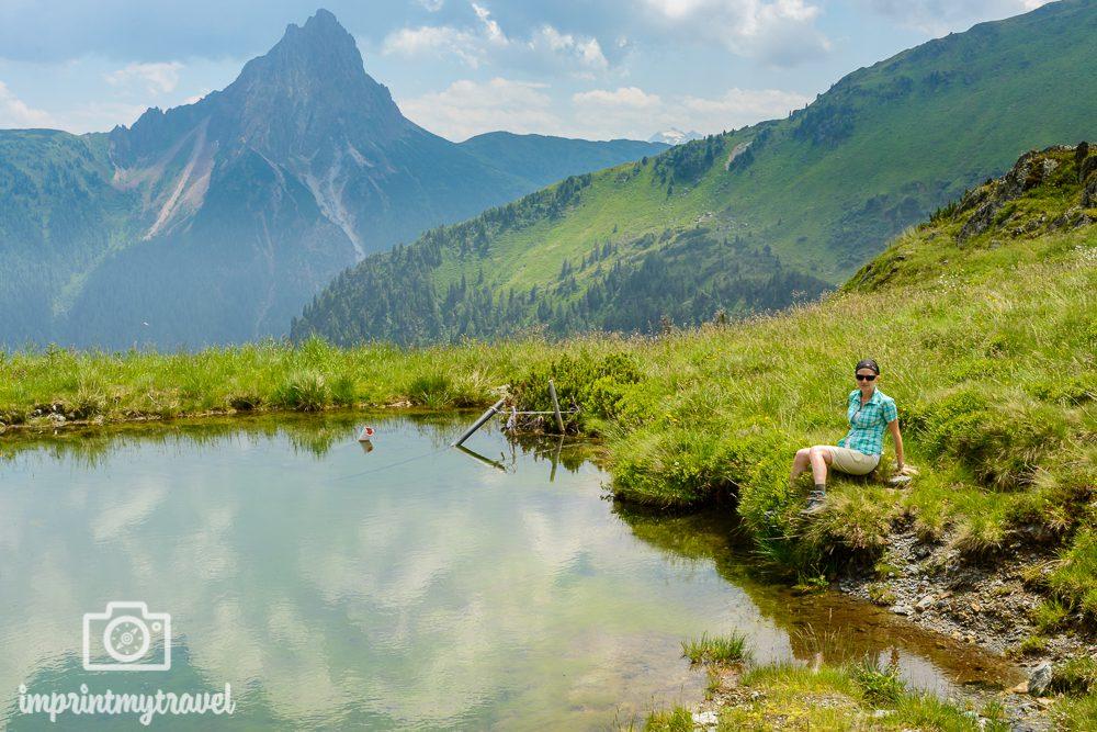 Wandern in den Kitzbüheler Alpen Großer Rettenstein