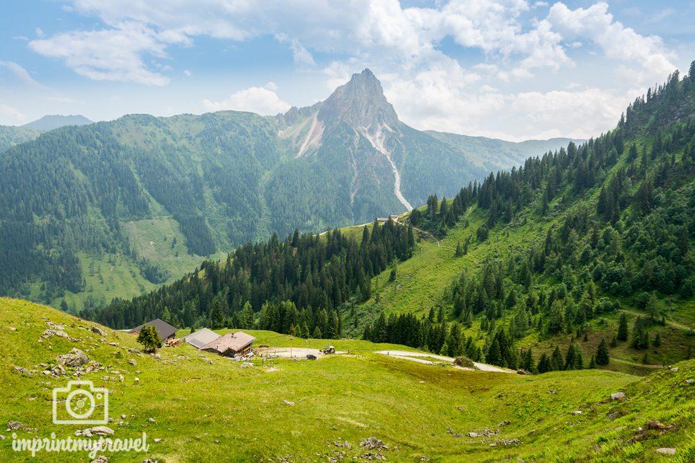 Wandern in den Kitzbüheler Alpen Hintenkar Niederalm