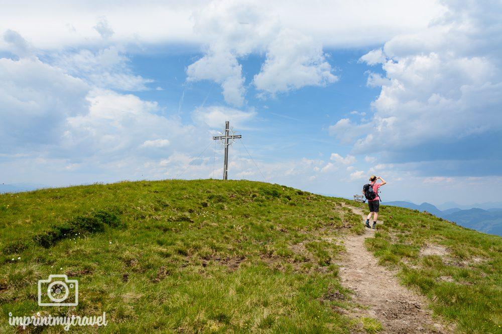 KAT Walk Tirol Wandern Lodron Gipfel