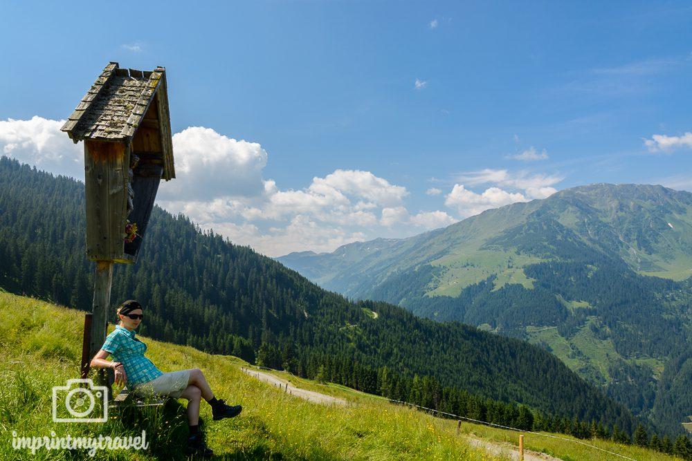 Wandern in den Kitzbüheler Alpen Panorama