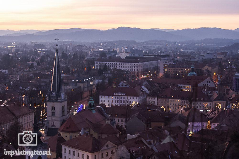 Ausblick Laibach Slowenien