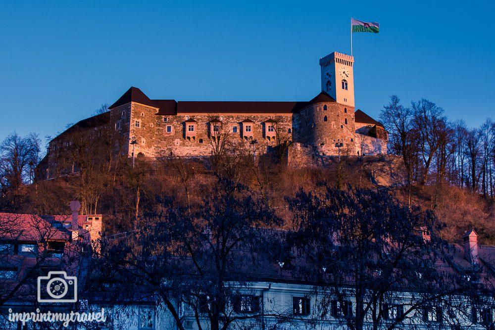 Dreiländereck Slowenien Ljubljana Sehenswürdigkeiten Burg