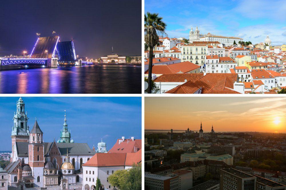 Staedtereise Highlights Europa