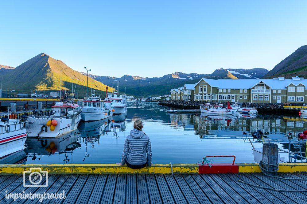 Island Bilder Siglufjörður