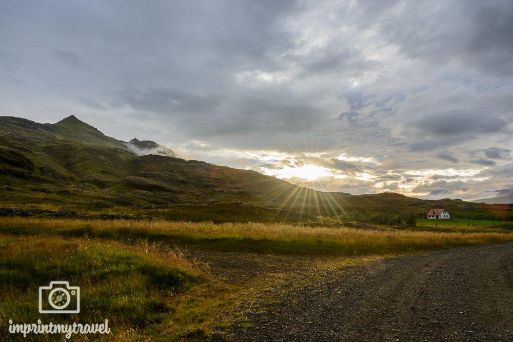 Island Bilder Ostfjorde