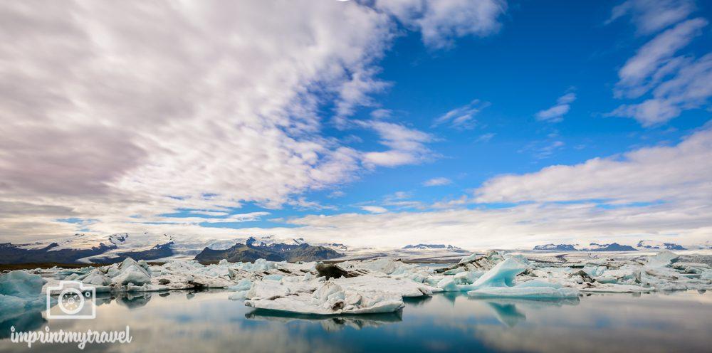 Island Bilder Gletscher Lagune