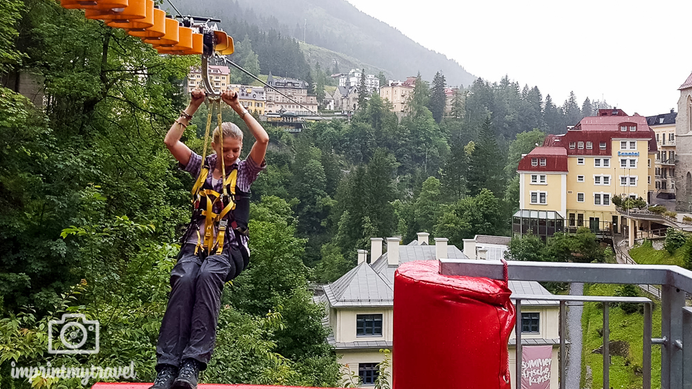 Wochenende in Gastein Flying Waters