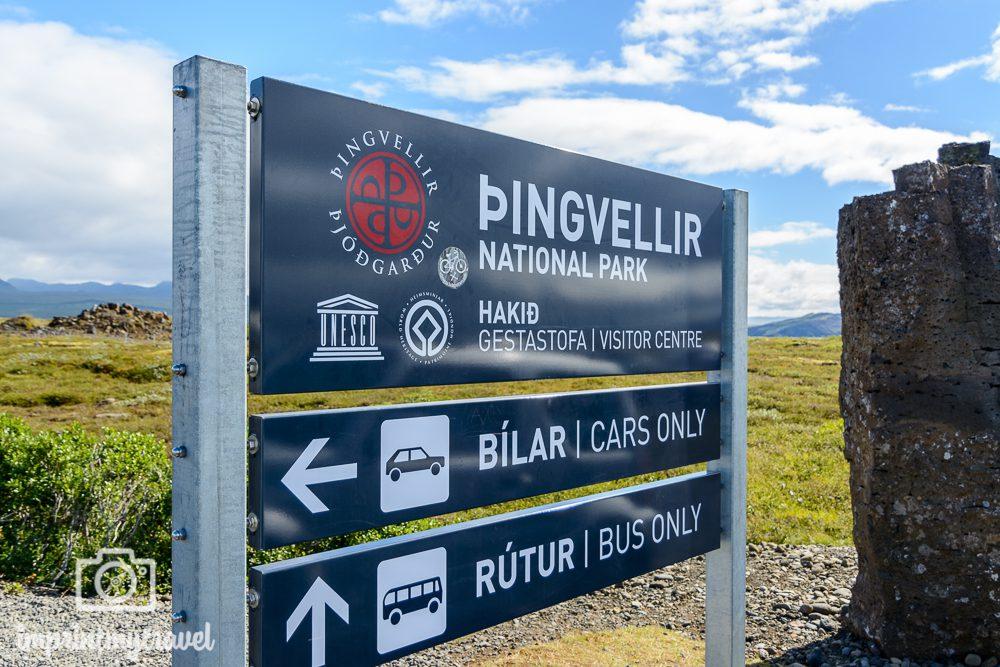 Island Thingvellir Parken