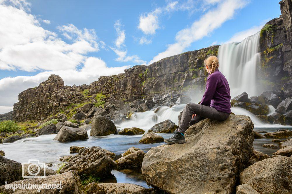 Island Rundreise Öxararfoss
