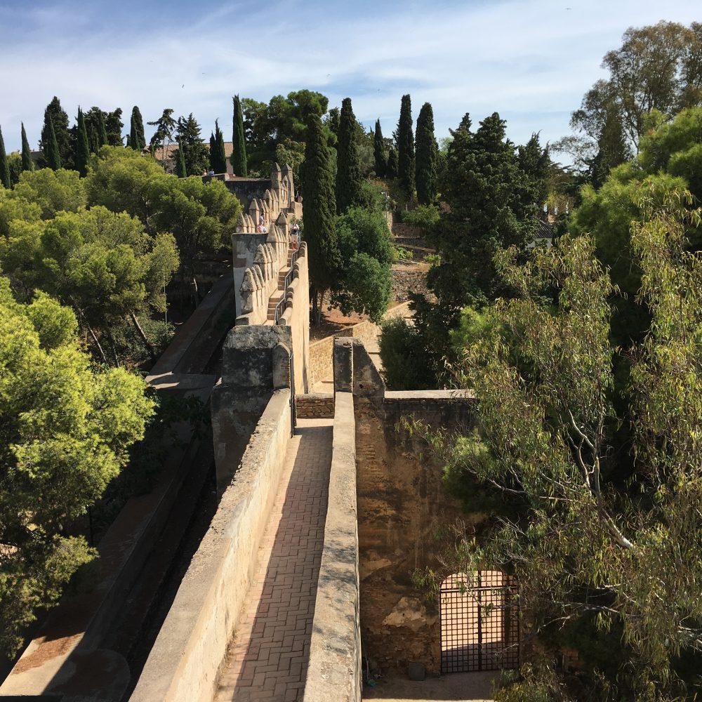 Mauern der Gibralfaro