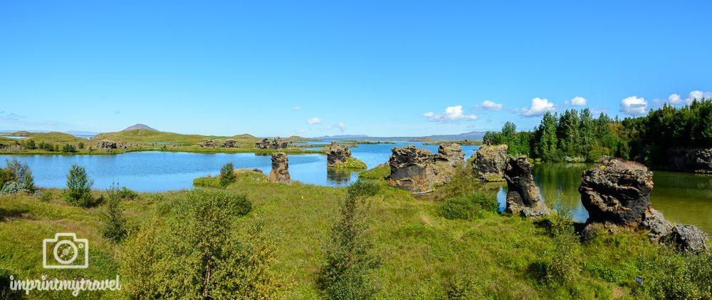 Island Rundreise Kalfaströnd Lavaformationen