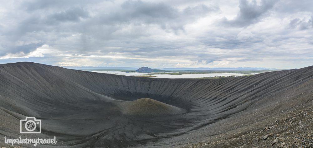 Island Rundreise Hverfjall Krater