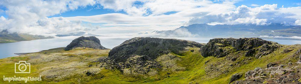 Island Reise Ostfjorde Aussichtspunkt
